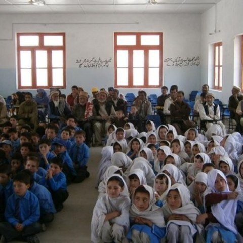 Campaign to provide education for girls in Munawar School